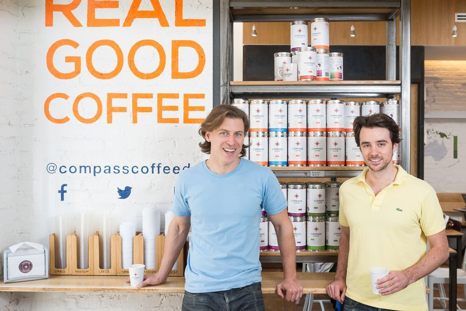 Compass Coffee DC crew