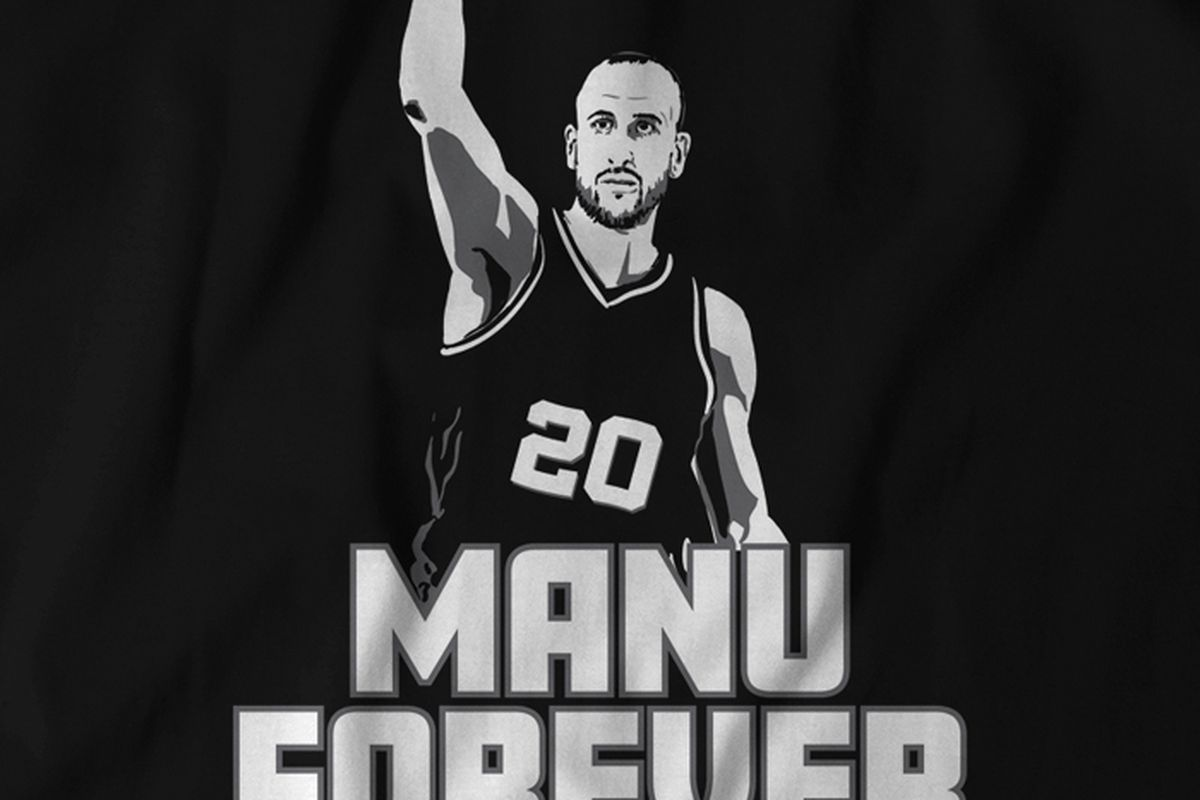 d1db72aaede Manu Ginobili Forever - Pounding The Rock