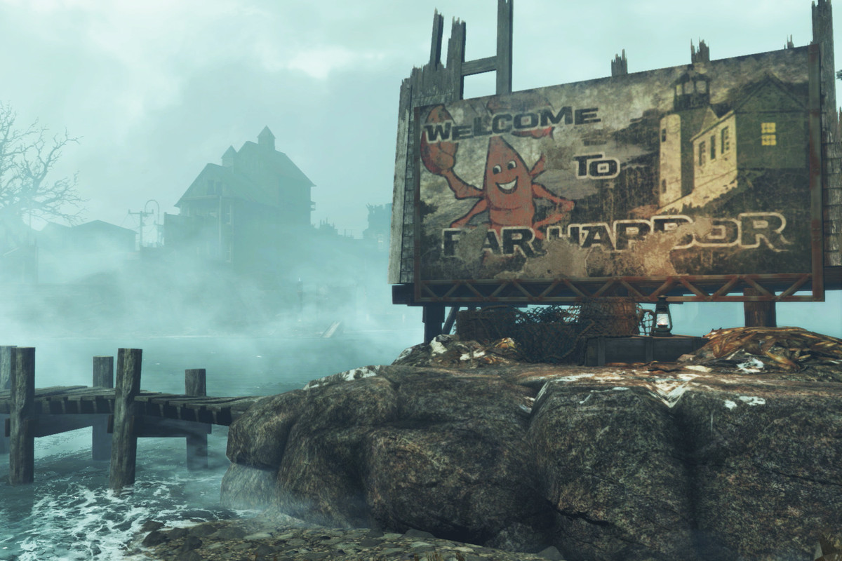Far Harbor Pulled Me Right Back Into Fallout 4 The Verge