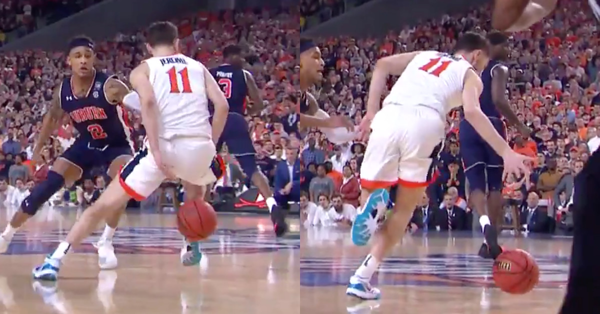 Auburn fans should be mad the refs missed this Virginia