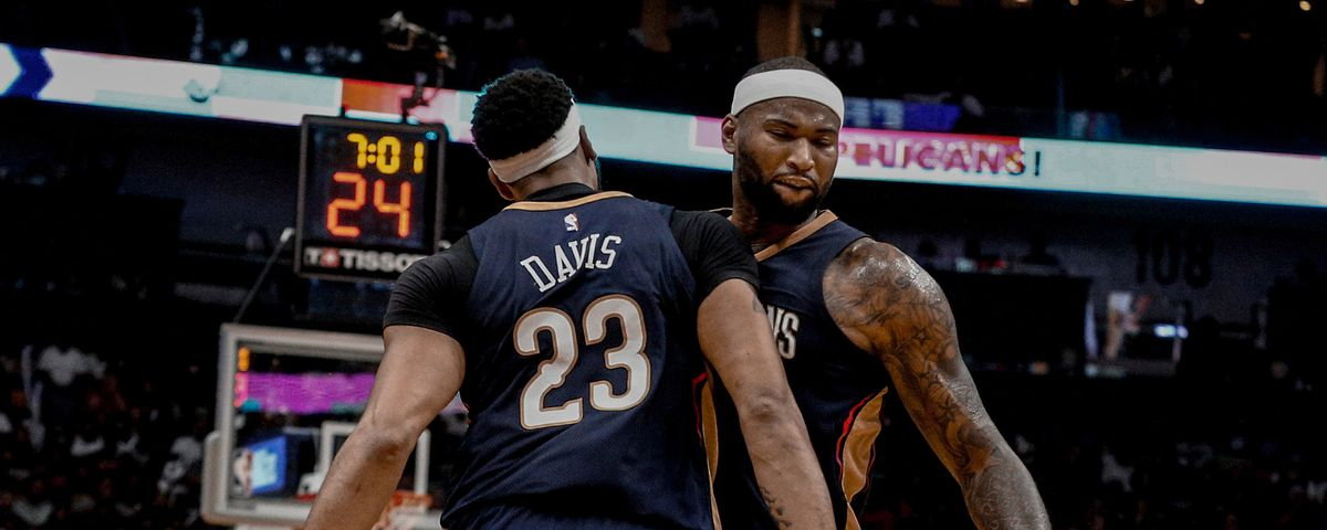 3b41cc21fc3 The future for DeMarcus Cousins and Anthony Davis is now and maybe never