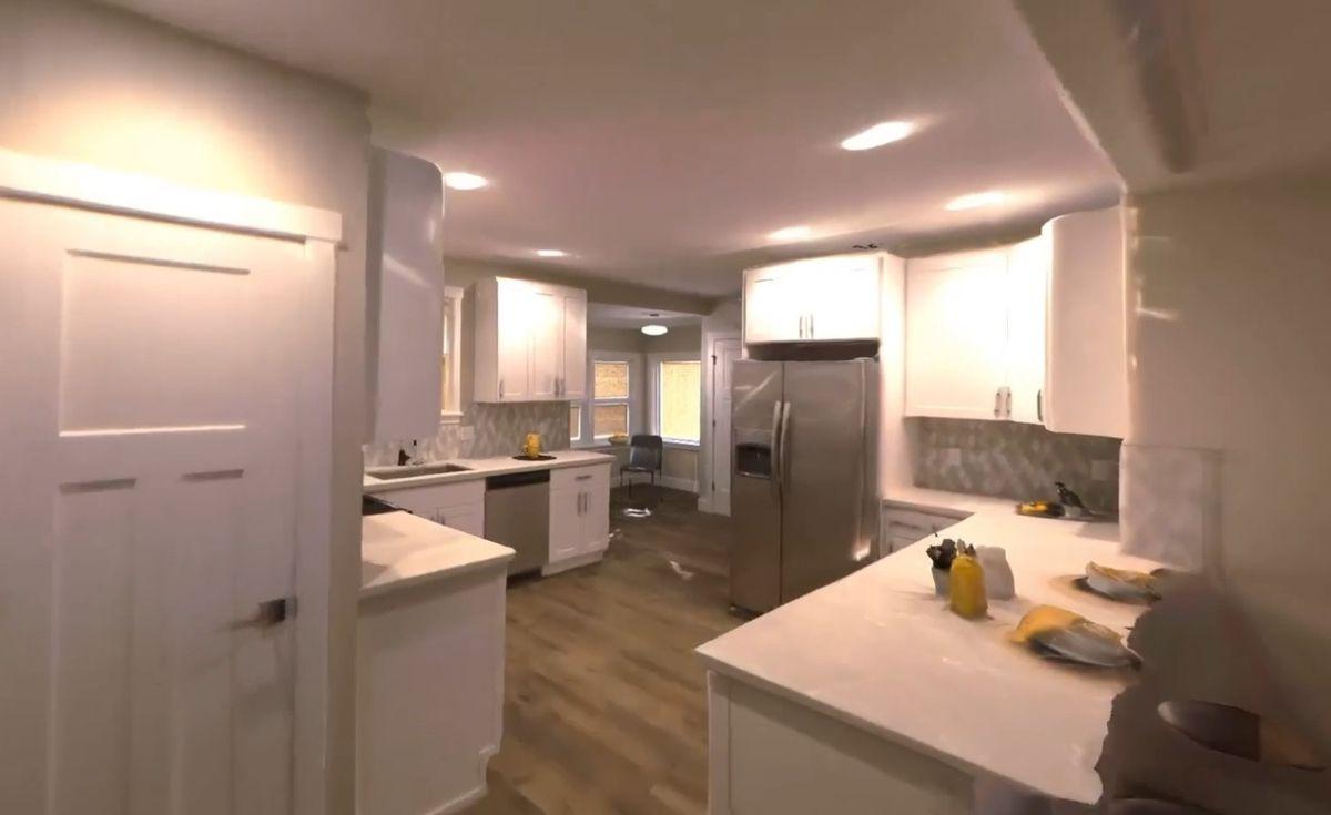 Simulated photo of kitchen