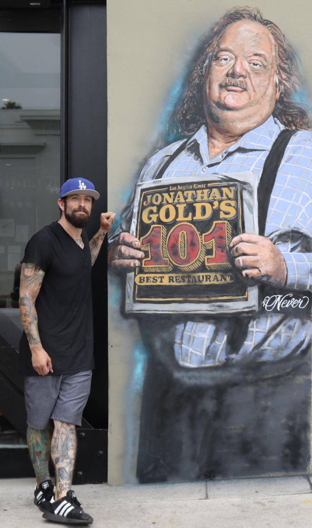 Jonathan Gold mural