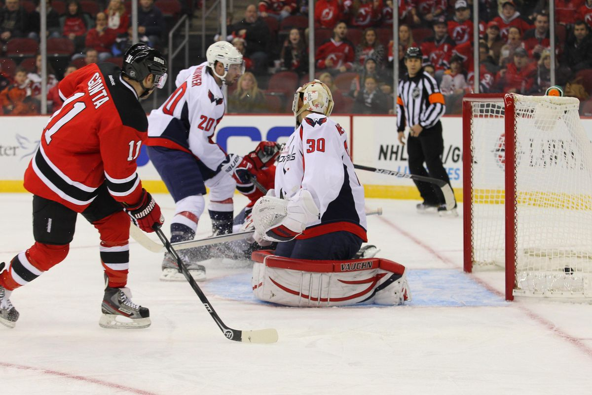 Stephen Gionta just made the best kind of Corsi event: a goal for the New Jersey Devils.