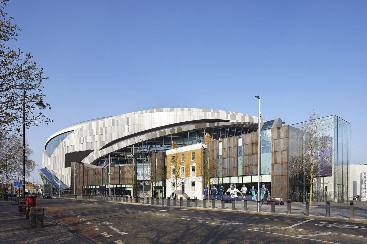 The New Tottenham Hotspur Stadium.
