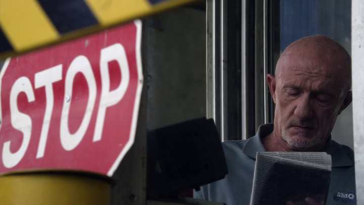 Mike (Jonathan Banks) is the other character to carry over from Breaking Bad to Better Call Saul.