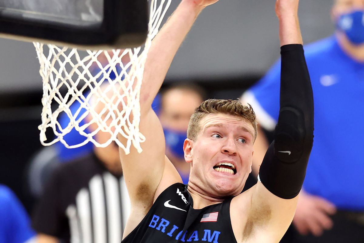 Kolby Lee recalls missing the 2020 WCC Tournament for BYU just before the pandemic began.