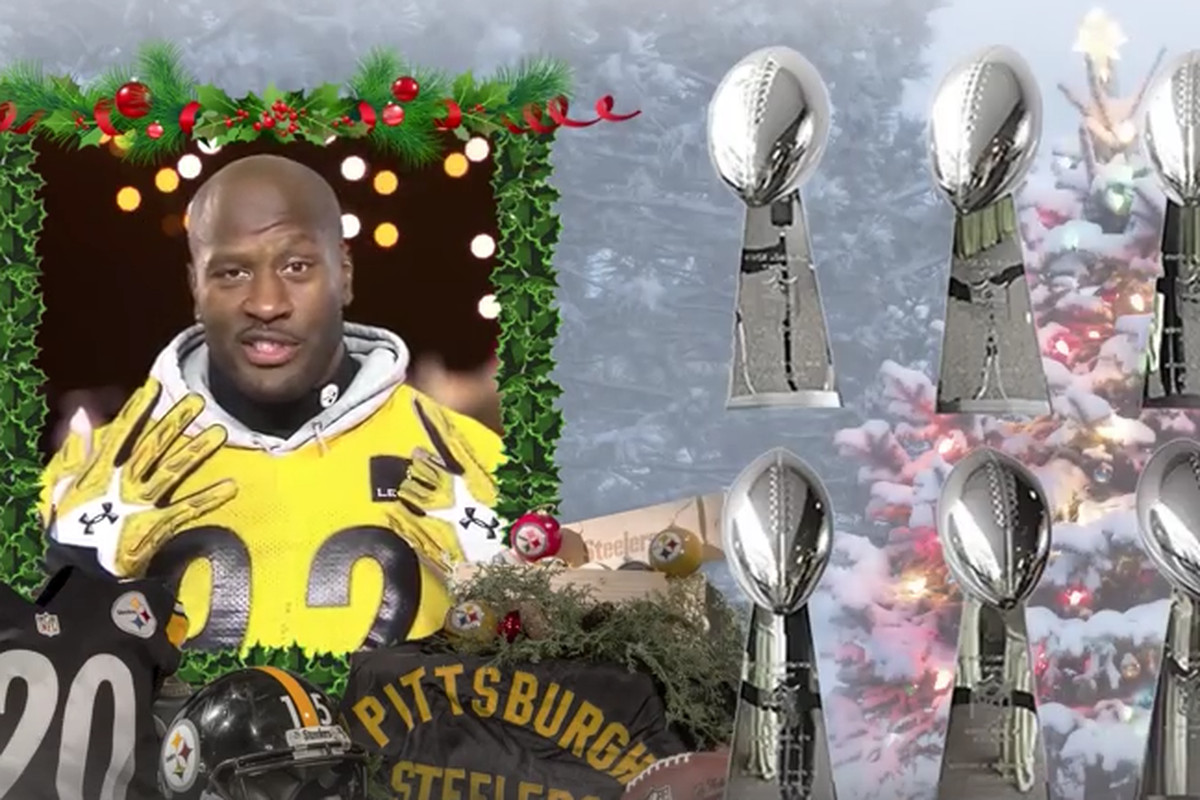 d540b81c The Pittsburgh Steelers wish fans a Happy Holidays with this ...