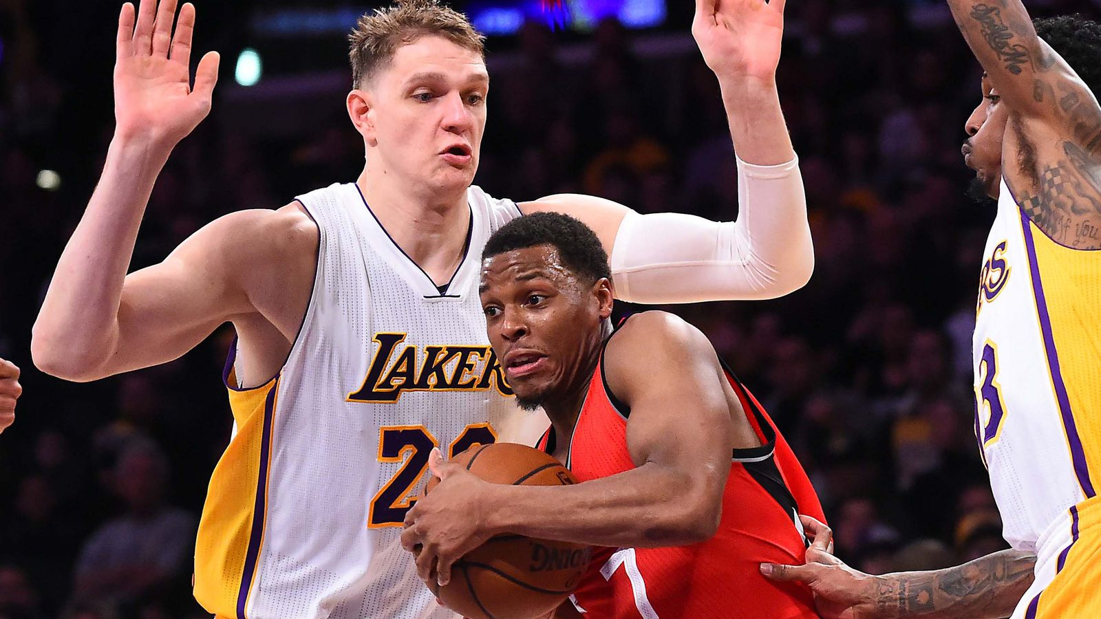 Lakers Vs Raptors Detail: Lakers Vs. Raptors Final Score: Kyle Lowry Goes Off