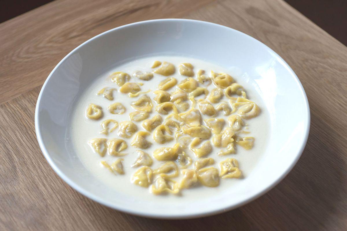 Tortellini With Parmesan Cream At Uovo Wonho Frank Lee