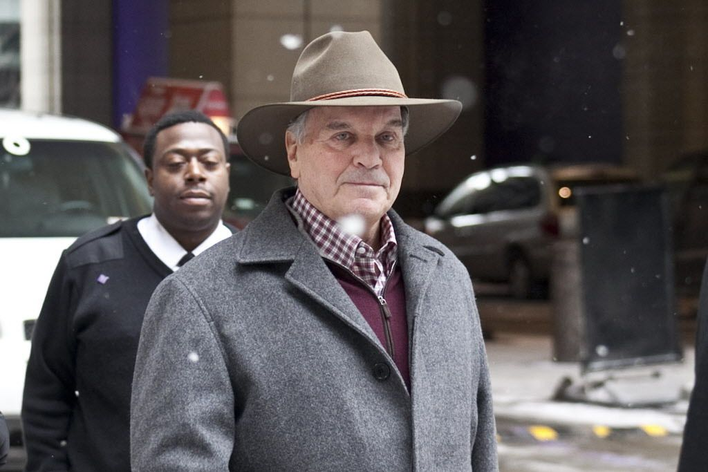 """Former Mayor Richard M. Daley (pictured in 2014) was questioned under oath in the lawsuit of Alonzo Smith, who says he was tortured by Chicago police operating under disgraced Chicago Police Cmdr. Jon Burge and his """"midnight crew"""" of detectives. 