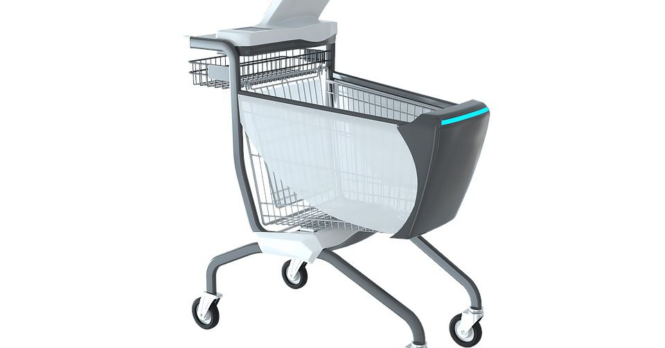 This smart shopping cart is a self-service checkout on wheels - The Verge