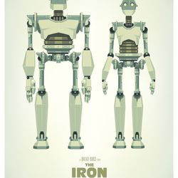 The Iron Giants by James Gilleard