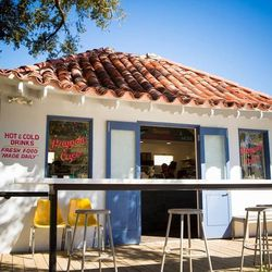 """5.) <a href=""""http://nola.eater.com/tags/pagoda-cafe"""">Pagoda Cafe's</a> shady bar and picnic seating, and full covered area. Great for breakfast, lunch, brunch, or enjoying the paper over a coffee."""