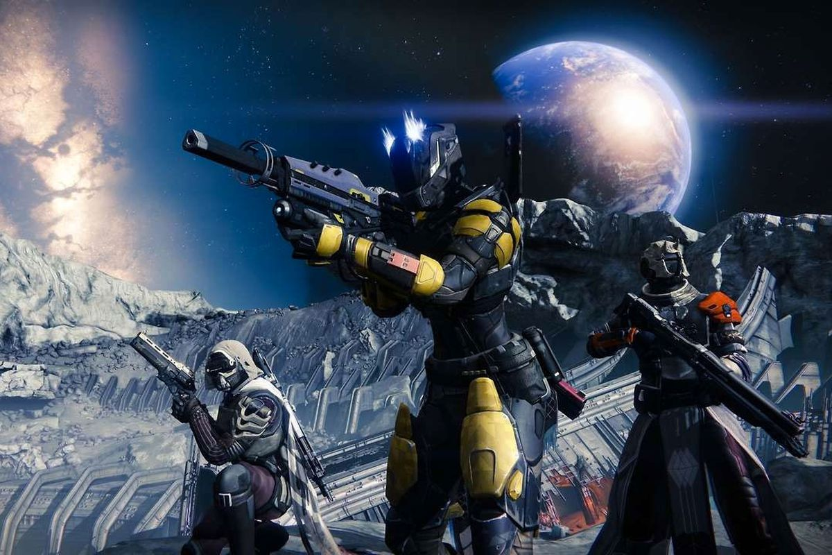 Why Destiny Players Are Obsessed With The Moon Polygon