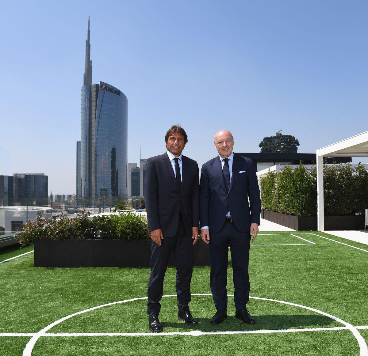 FC Internazionale Pre-Season Camp Press Conference