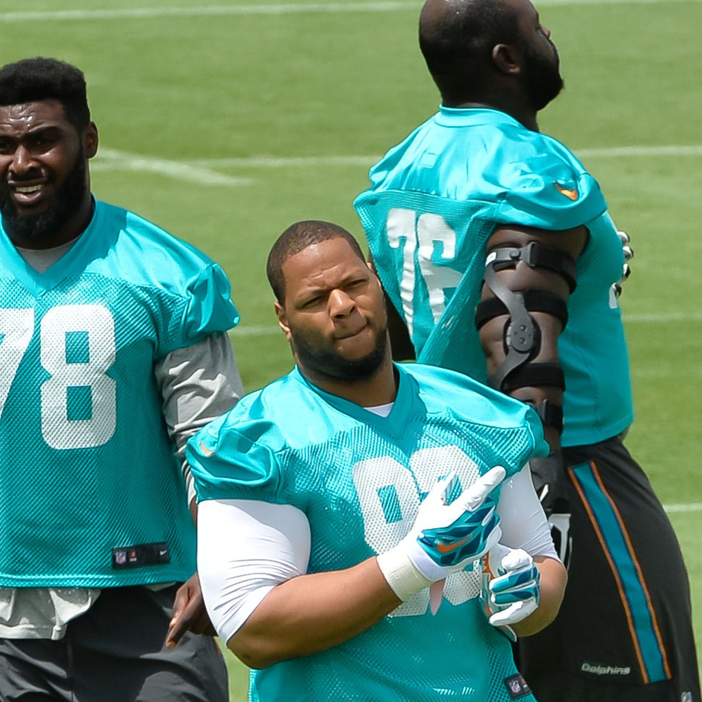 bdb649a97 Miami Dolphins training camp 2015 roster by number - The Phinsider