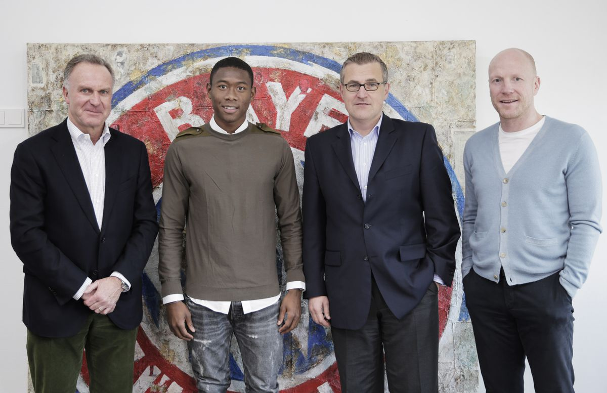 David Alaba Extends His FC Bayern Muenchen Contract