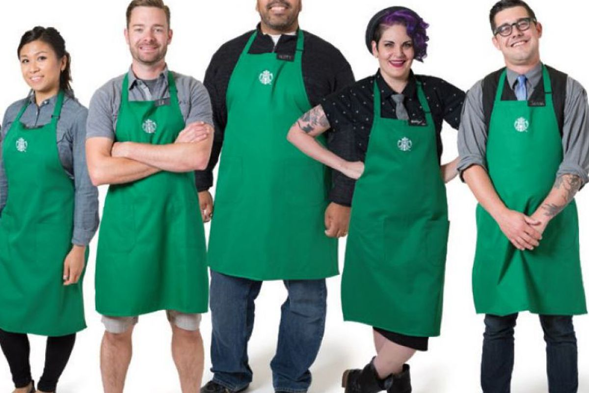 Starbucks uniform