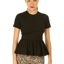 """Peplum Short-sleeve Tee, <a href=""""http://www.openingceremony.us/products.asp?menuid=2&designerid=1494&productid=64024"""">$160</a>"""