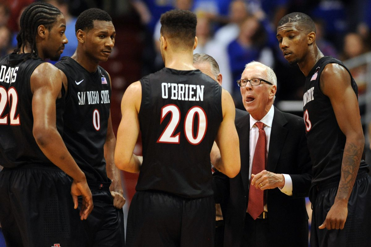 College Basketball Rankings Week 12 San Diego State Up To 7