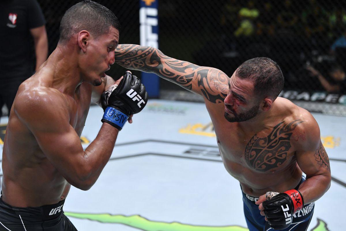 UFC Fight Night: Ponzinibbio v Baeza