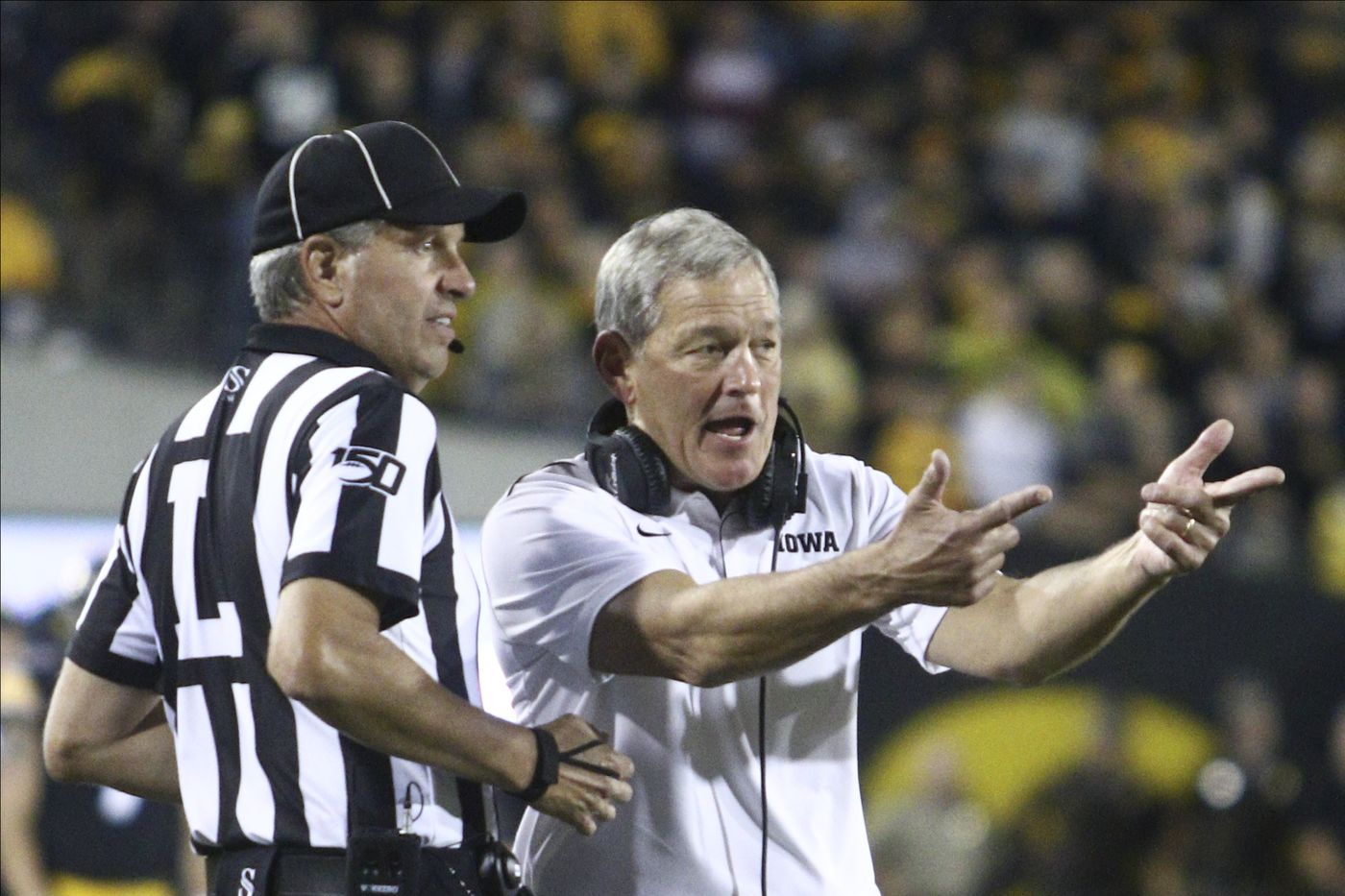 Iowa Football Head Hawkeye Kirk Ferentz Falls Down List Of