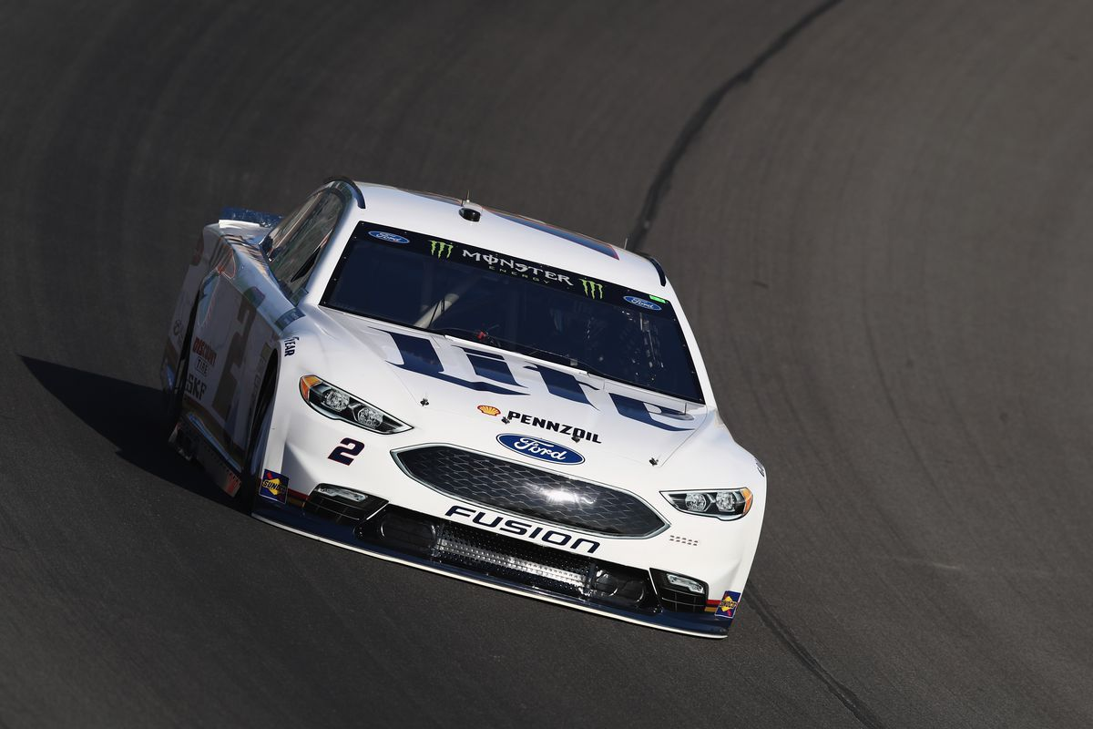 Michigan native Brad Keselowski wins the pole for the Prue Michigan 400