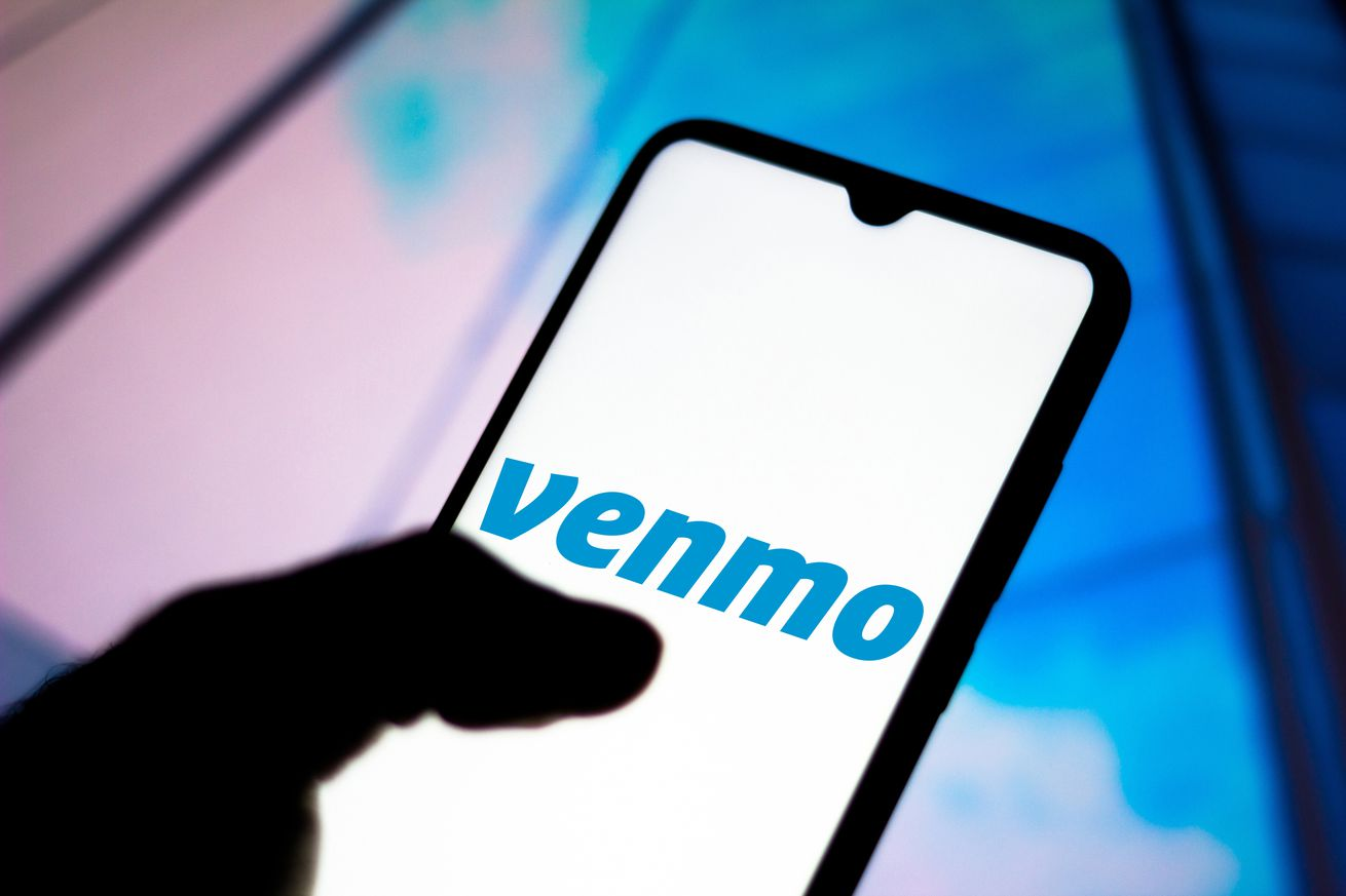 In this photo illustration the Venmo - Share Payments logo...
