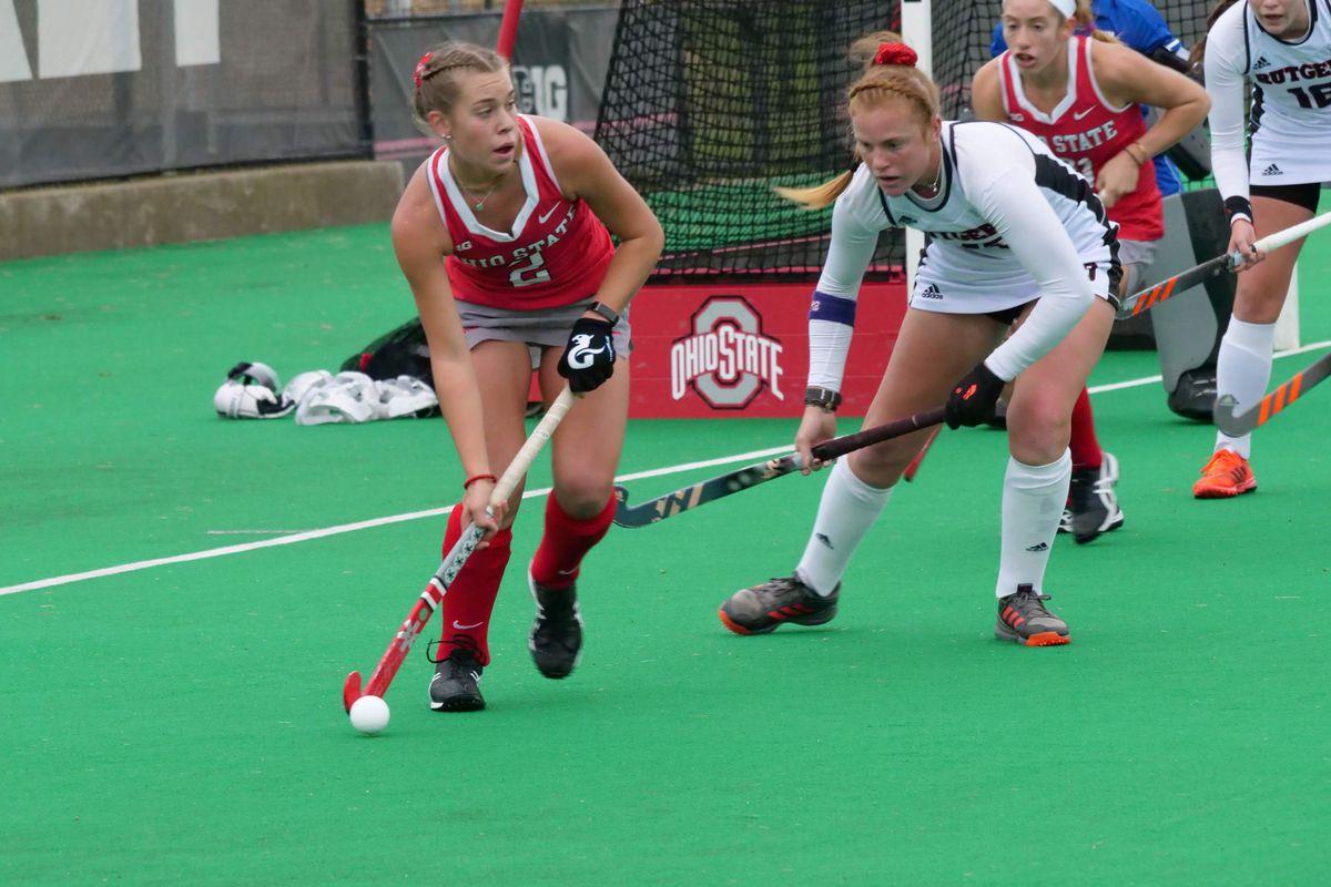 Ohio State Field hockey hosts exhibition ahead of season opener