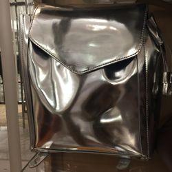 Loeffler Randall metallic book bag, $158