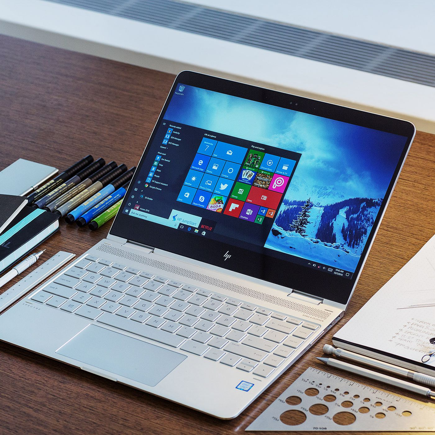The Hp Spectre X360 Is Getting A Pen And An Optional 4k Screen The Verge