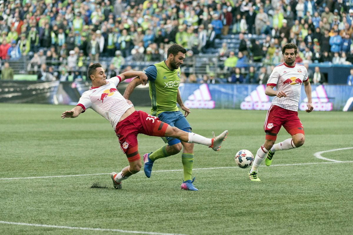 MLS: New York Red Bulls at Seattle Sounders FC