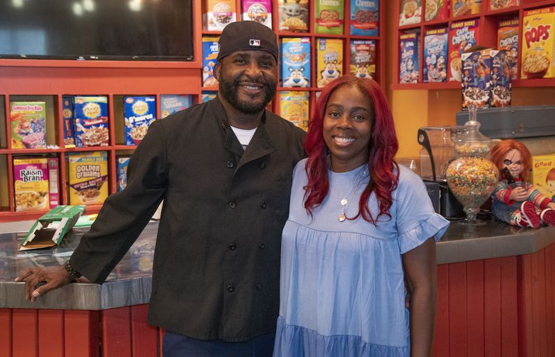 Mark and Shae Walkerare the owners of Oooh Wee It Is restaurant.