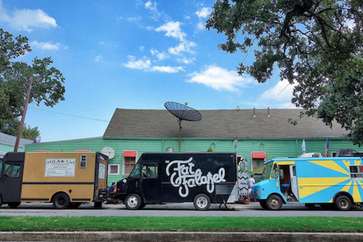 Food trucks at Finn McCool's