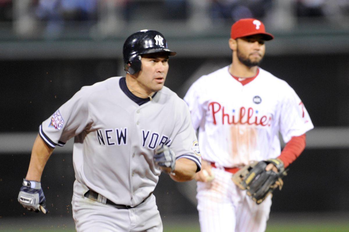 New York Yankees v Philadelphia Phillies, Game 4