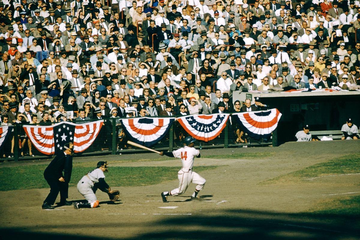 1957 World Series: New York Yankees v Milwaukee Braves
