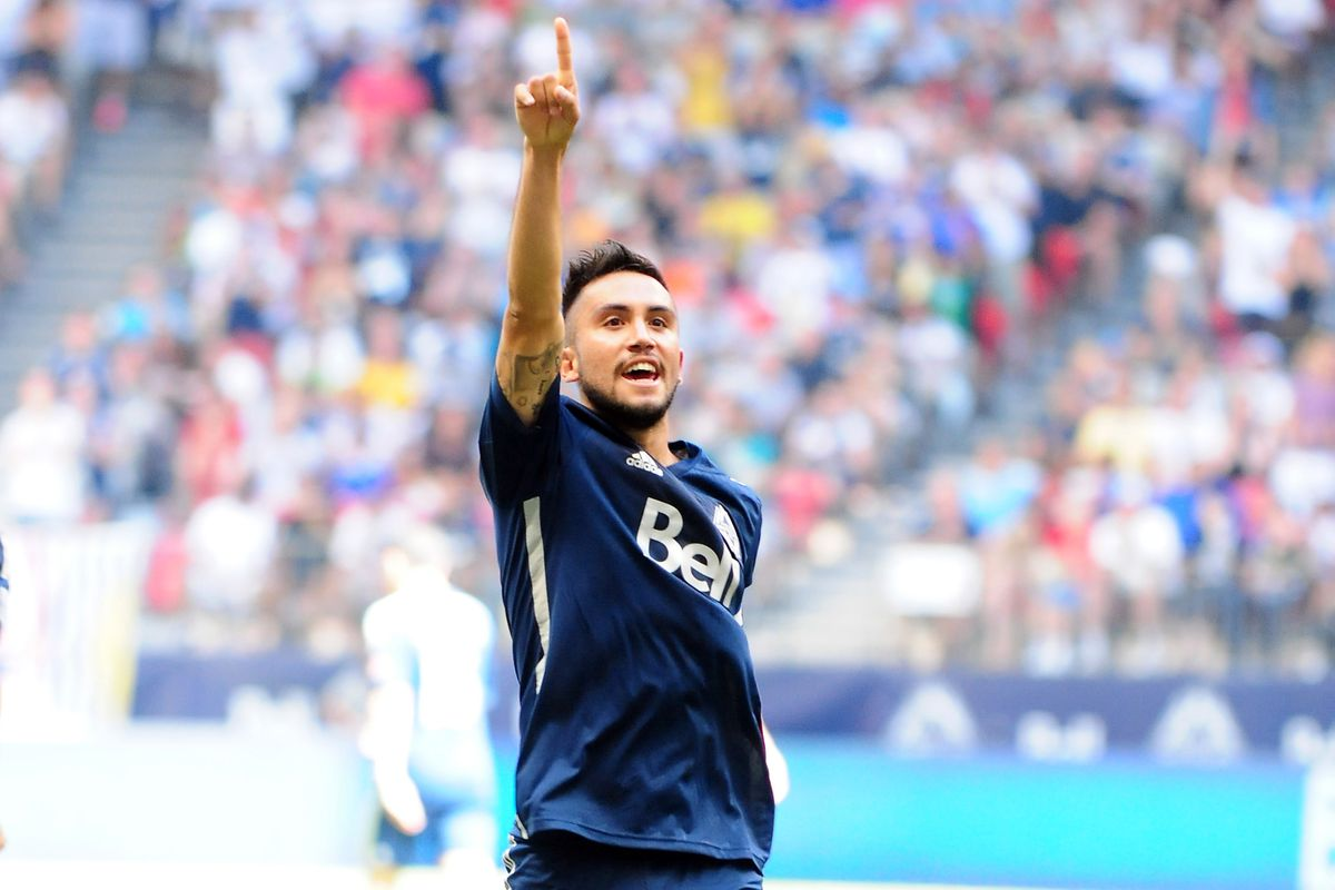 Whitecaps captain and supporters favourite, Pedro Morales