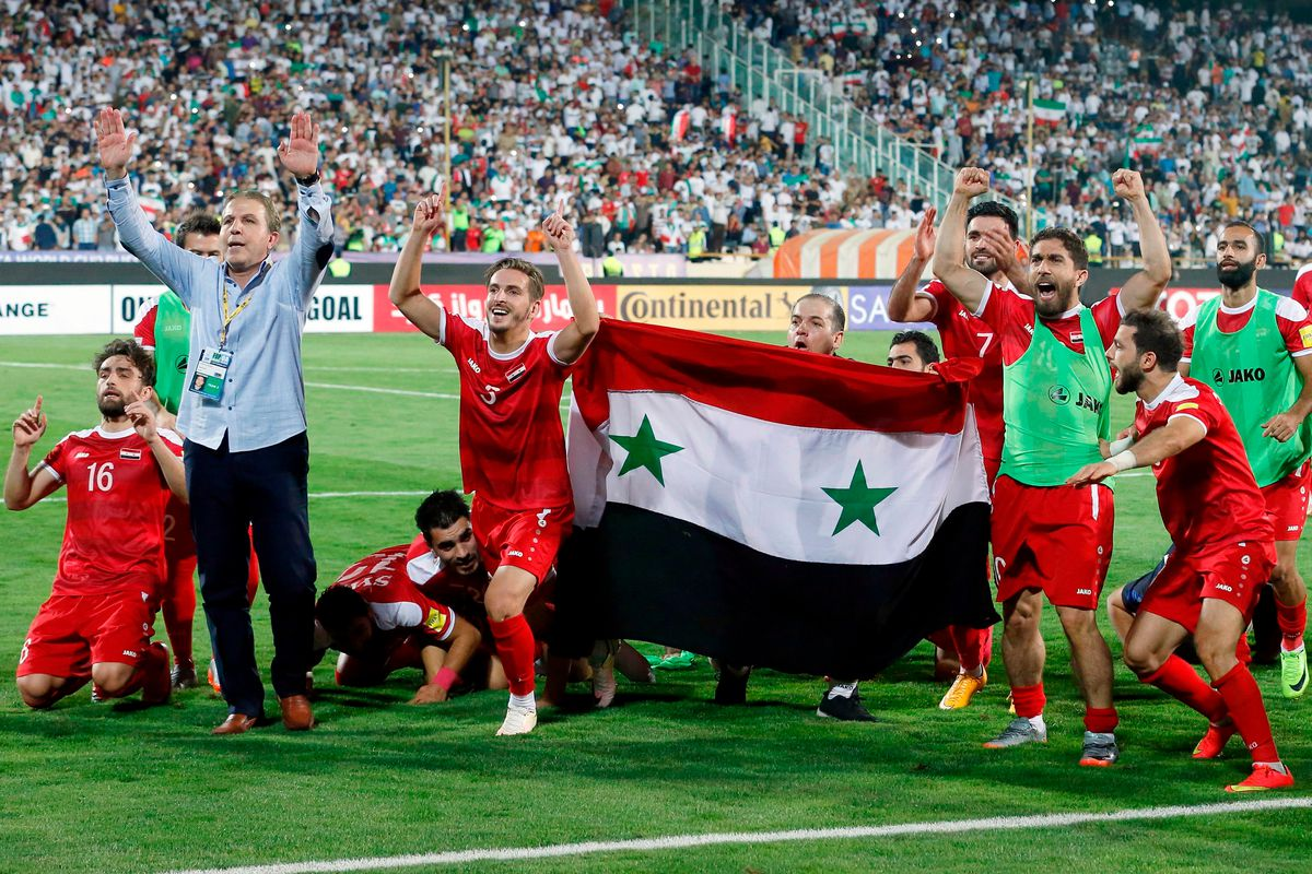 2adc02e6066 Syria Is Just Four Games Away From Qualifying for the World Cup ...
