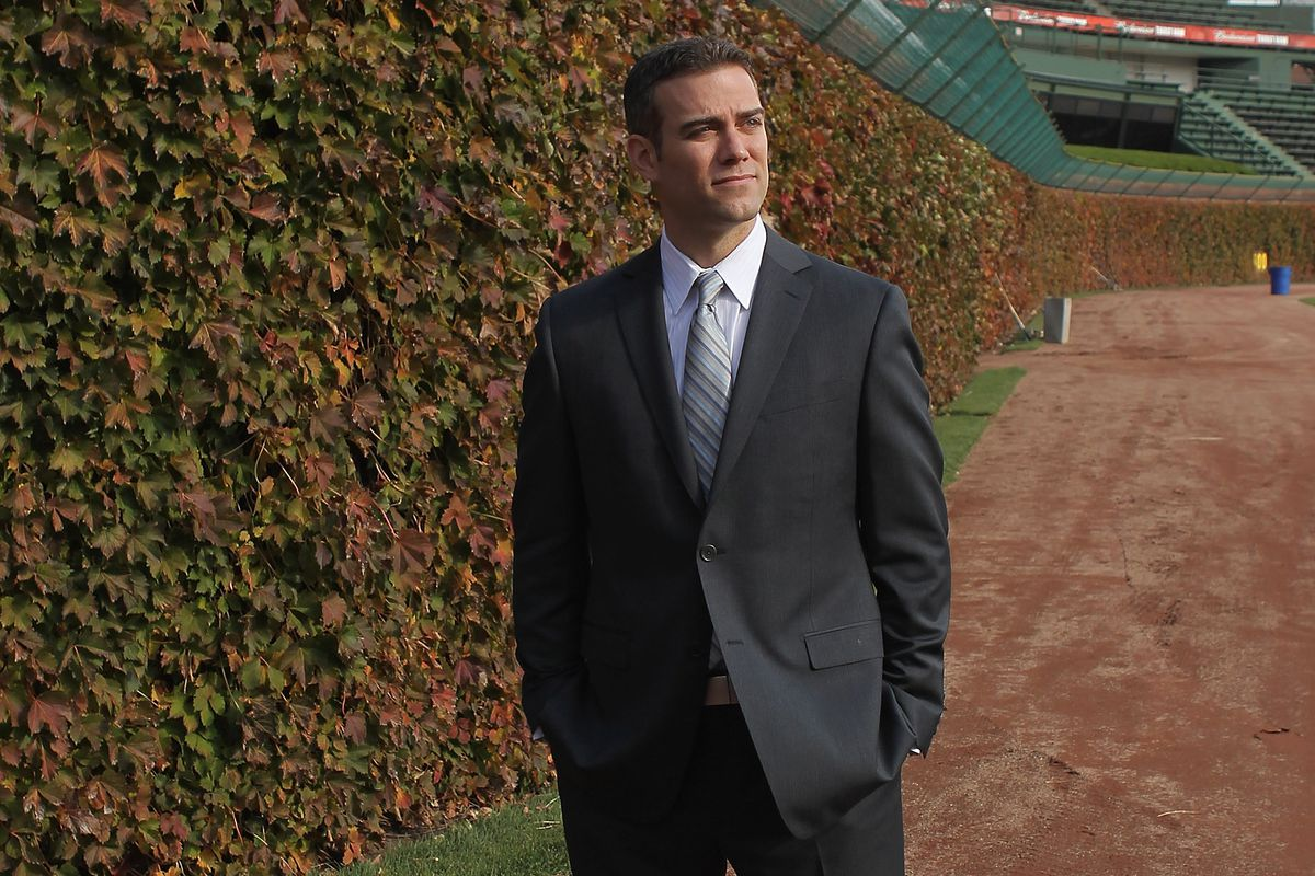Chicago Cubs Introduce Theo Epstein as President of Baseball Operations