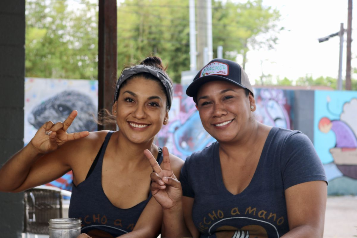 Reyna and Maritza Vazquez