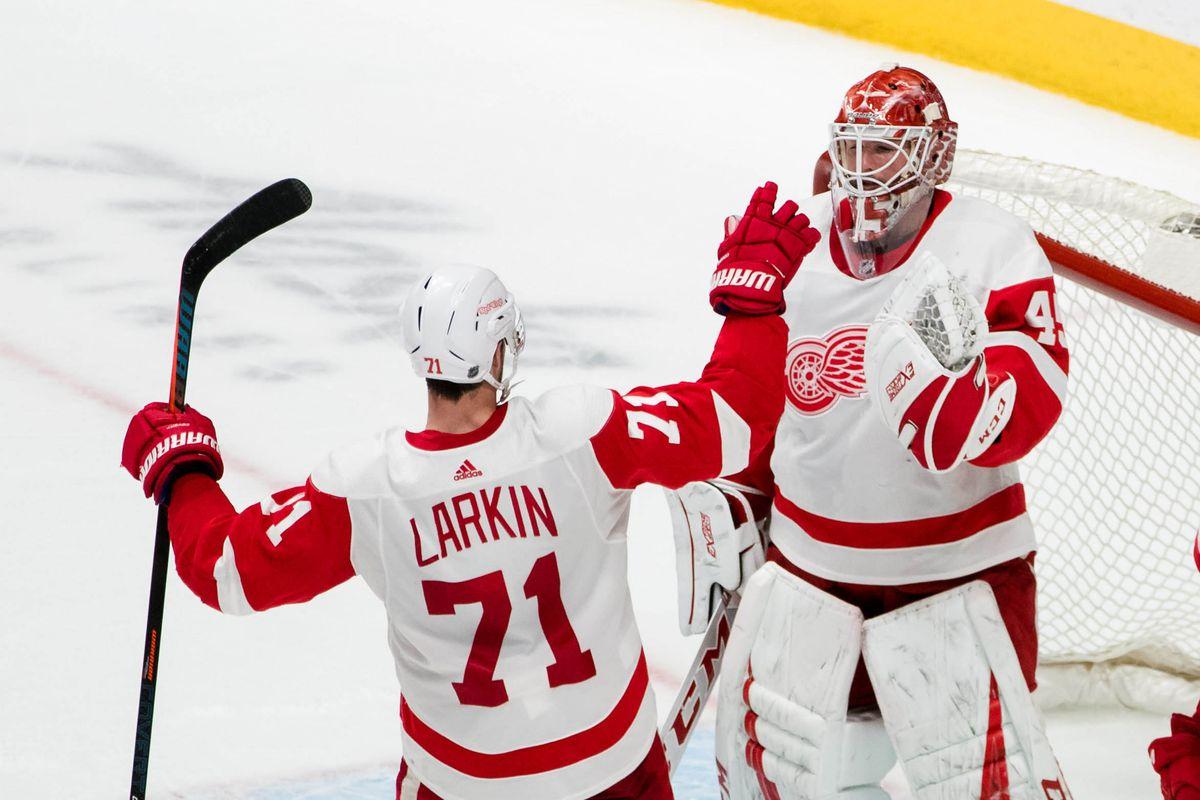 NHL: Detroit Red Wings at San Jose Sharks