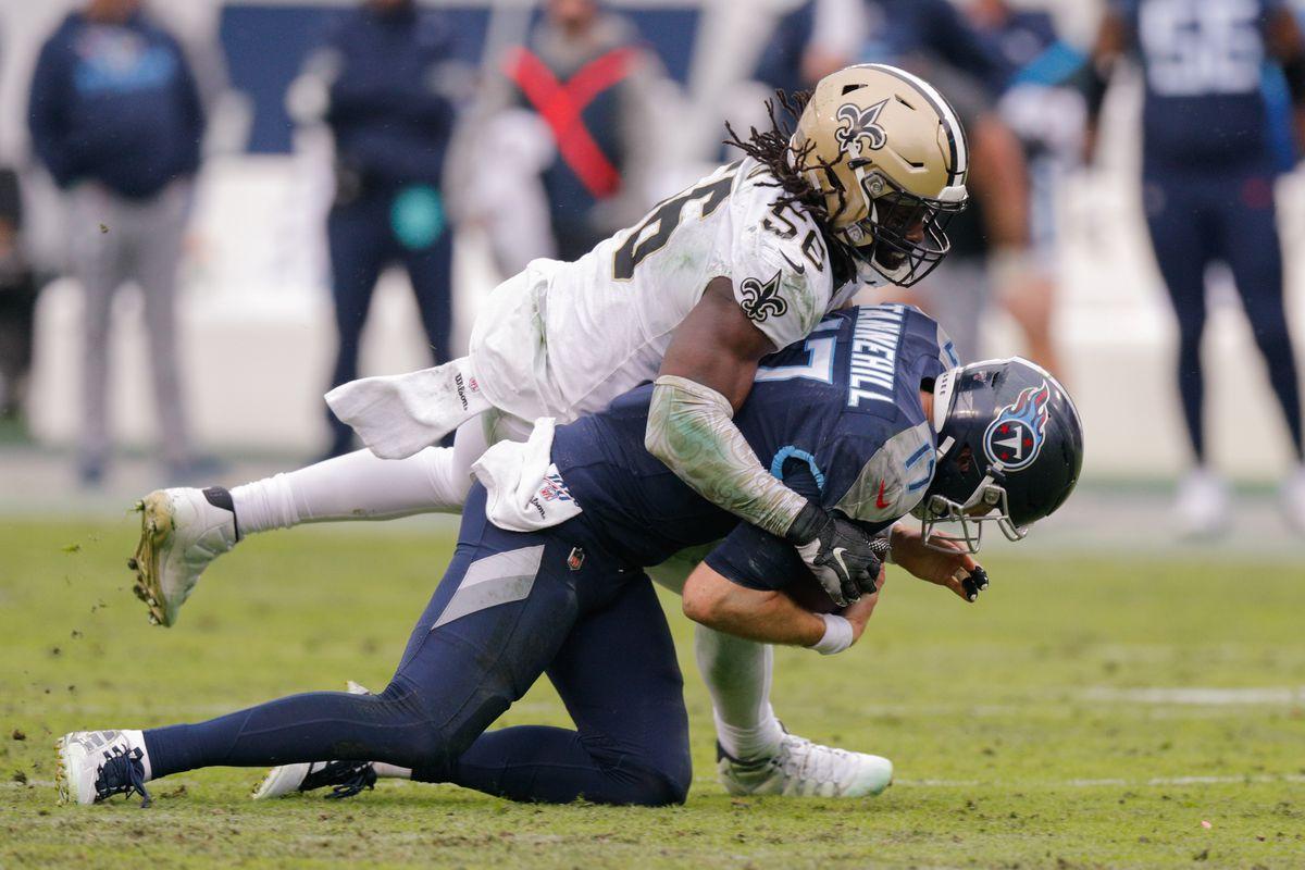 NFL: DEC 22 Saints at Titans