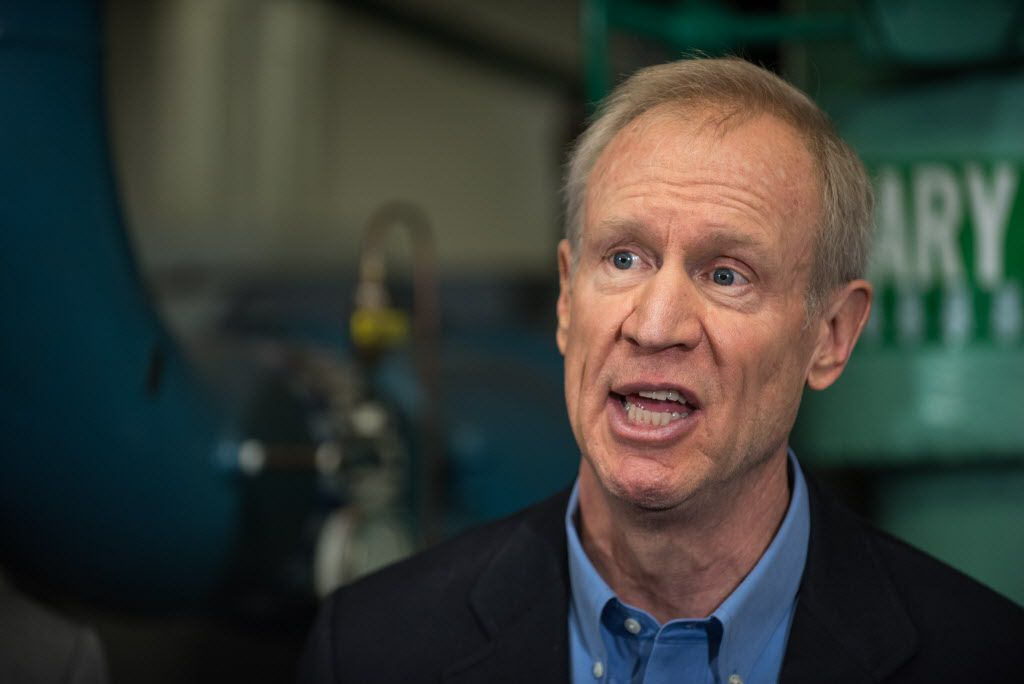 Gov. Bruce Rauner | Max Herman/For the Sun-Times