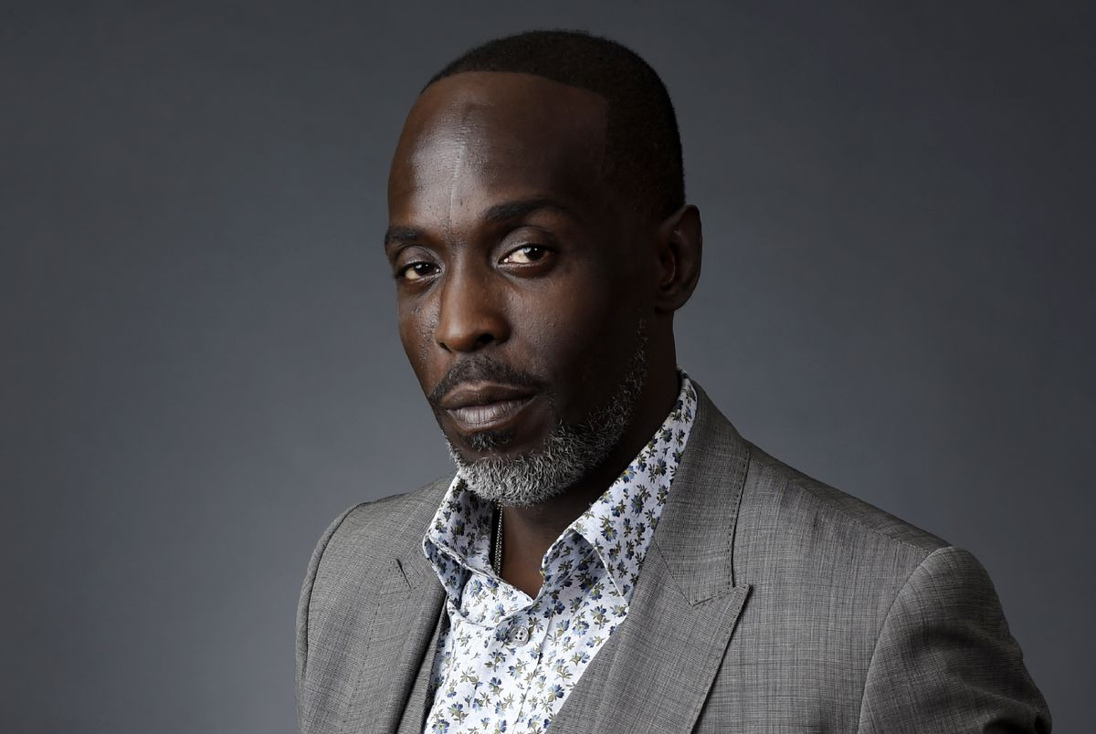 """Actor Michael K. Williams poses for a portrait at the Beverly Hilton during the 2016 Television Critics Association Summer Press Tour, Saturday, July 30, 2016, in Beverly Hills, Calif. Williams, who played the beloved character Omar Little on """"The Wire,"""" has died. New York City police say Williams was found dead Monday, Sept. 6, 2021, at his apartment in Brooklyn. He was 54."""