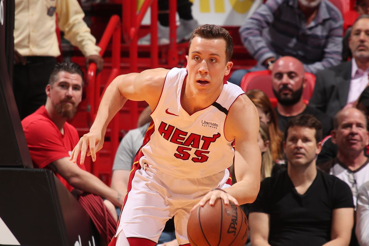 Duncan Robinson Rewrote Nba Record Book For The Miami Heat Hot Hot Hoops