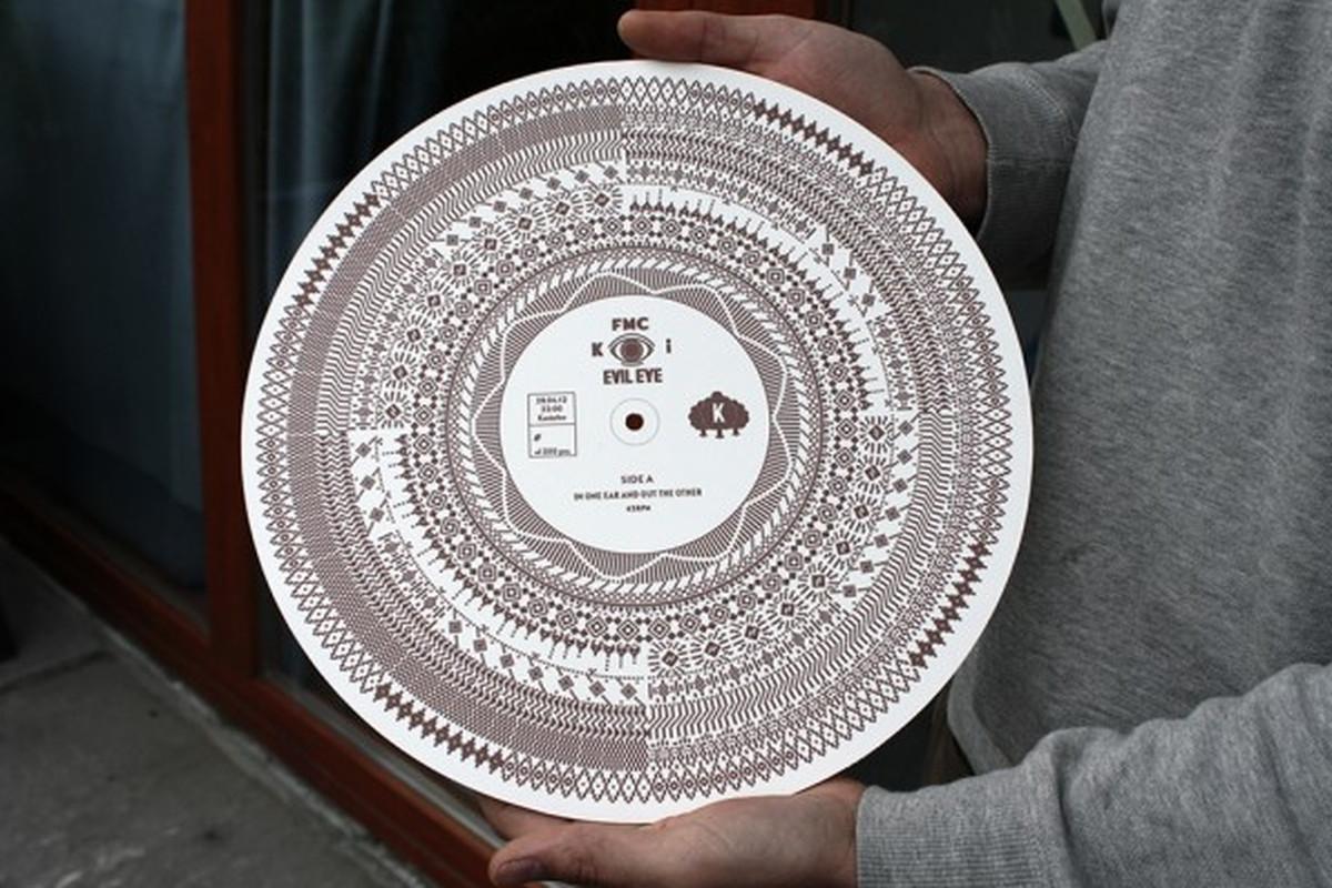 The Evil Eye optical disc