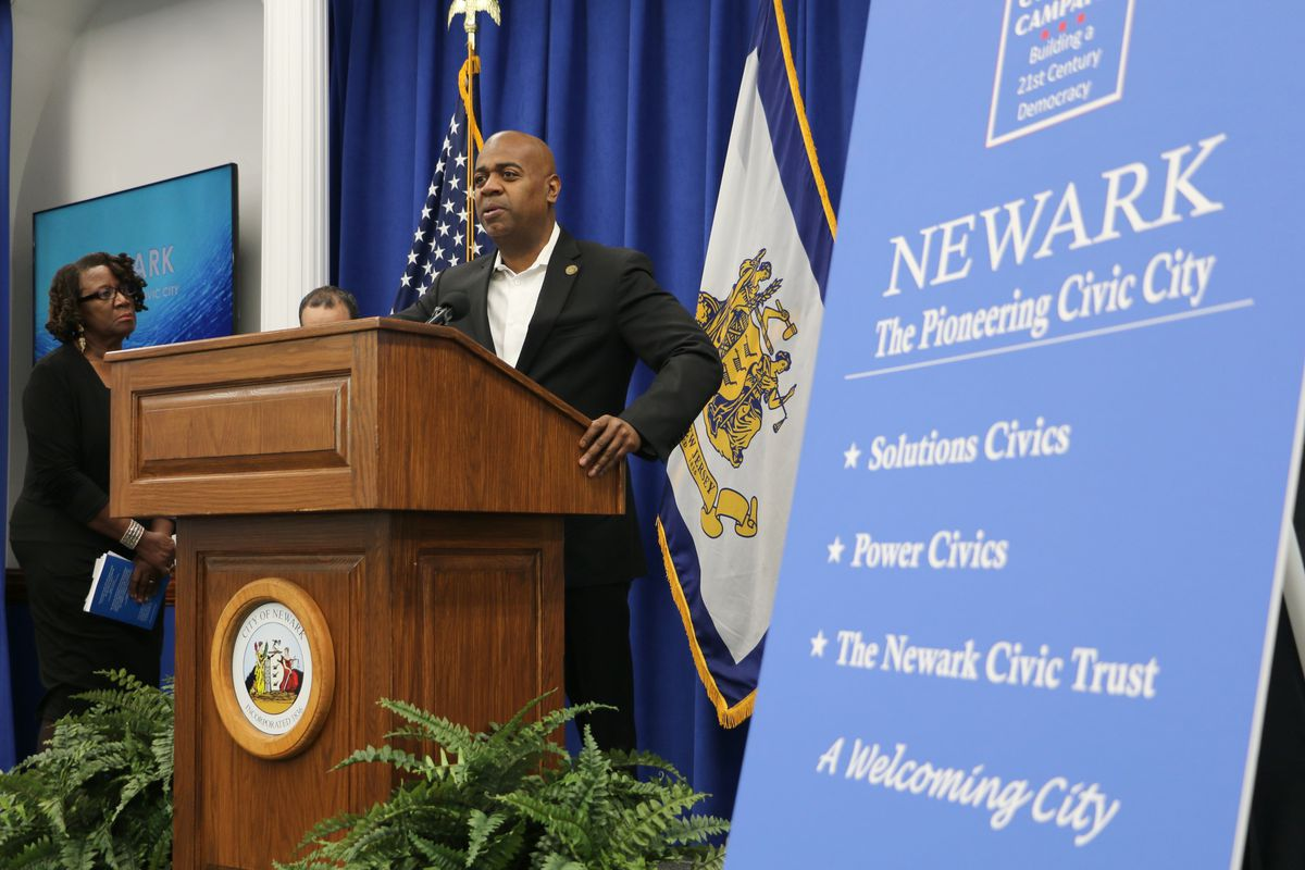 """Newark Mayor Ras Baraka announced a new """"civic city"""" campaign Wednesday that includes a problem-solving course for high schoolers."""
