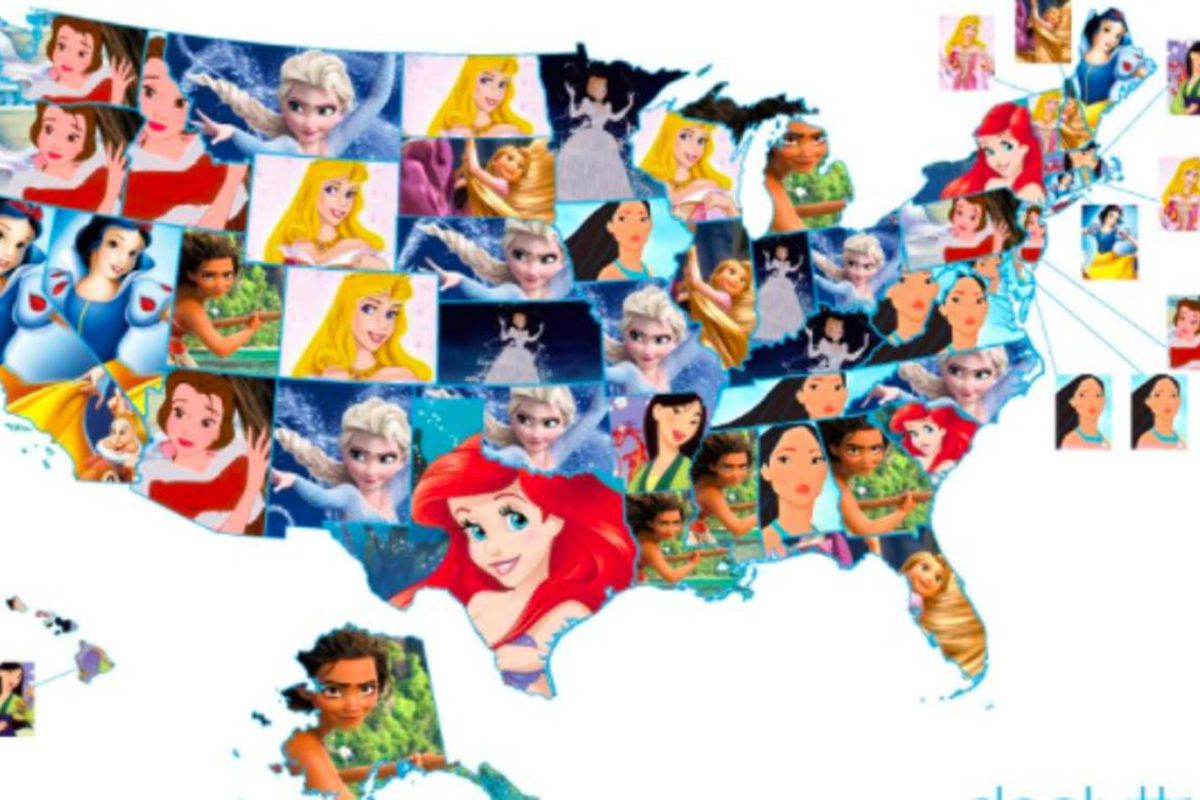 Who Is Utah S Favorite Disney Princess Deseret News