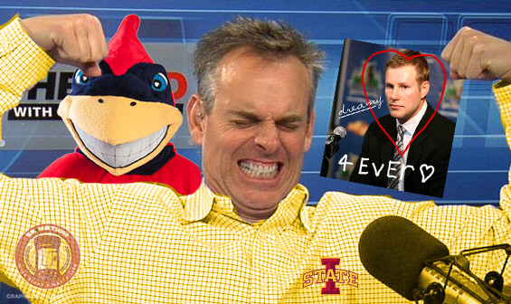 Colin Cowherd Loves the Cyclones